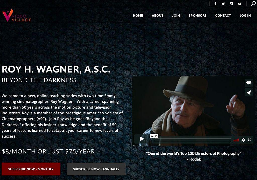 Roy Wagner Video Village Pro